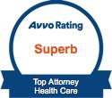 Avvo 2015 - Top Attorney in Health Care